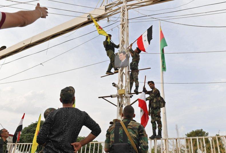 syria military kurds ypg border turkey
