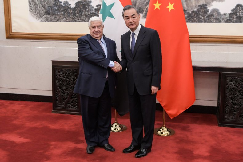 syria china foreign ministers beijing