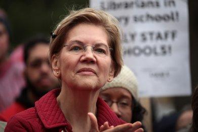 Elizabeth Warren 2020 wealth tax billionaires
