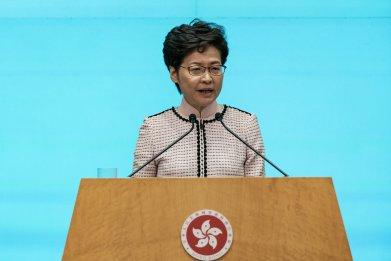 Carrie Lam, Hong Kong, China, protests, elections