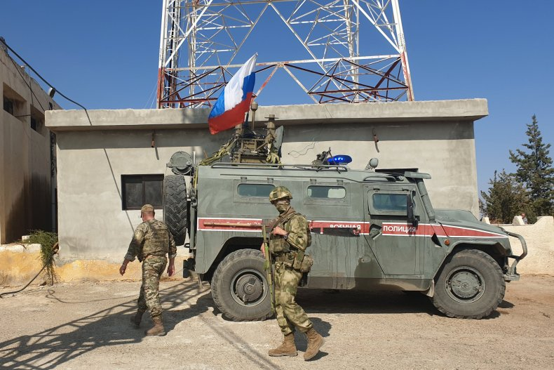 russia military syria border kurds turkey