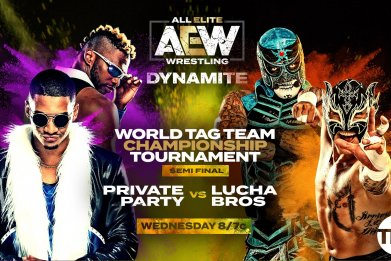 aew dynamite lucha bros private party