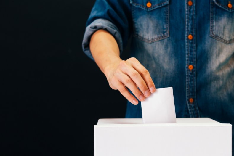 voting, ballot box, election