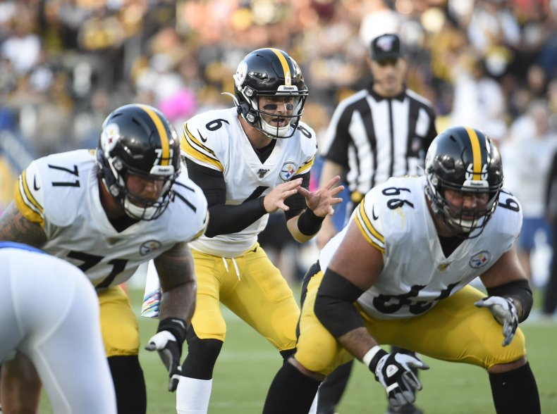 Devlin Hodges, Pittsburgh Steelers