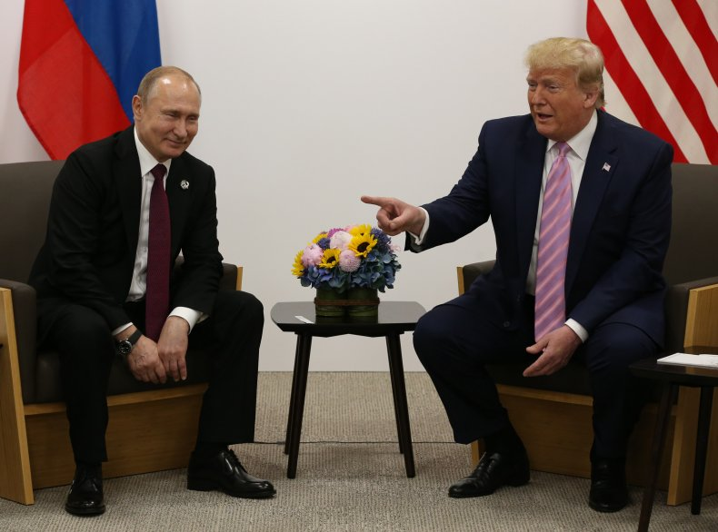Donald Trump, Vladimir Putin, Michael McFaul, Russia