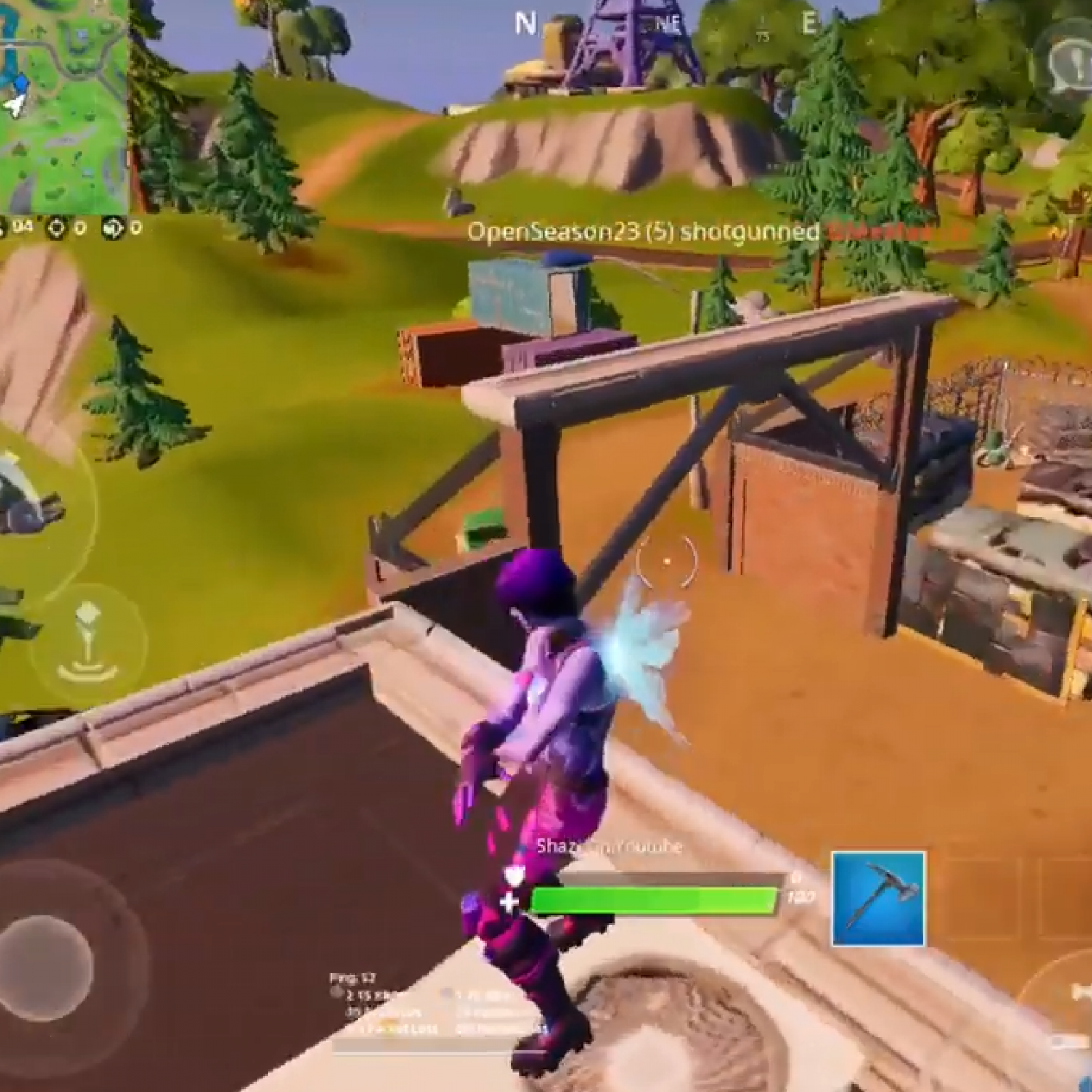 Fortnite Compact Cars Lockes Lighthouse Weather Station
