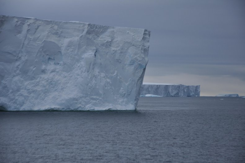 Antarctic ice shelf