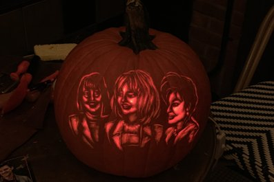 First Wives Club Pumpkin