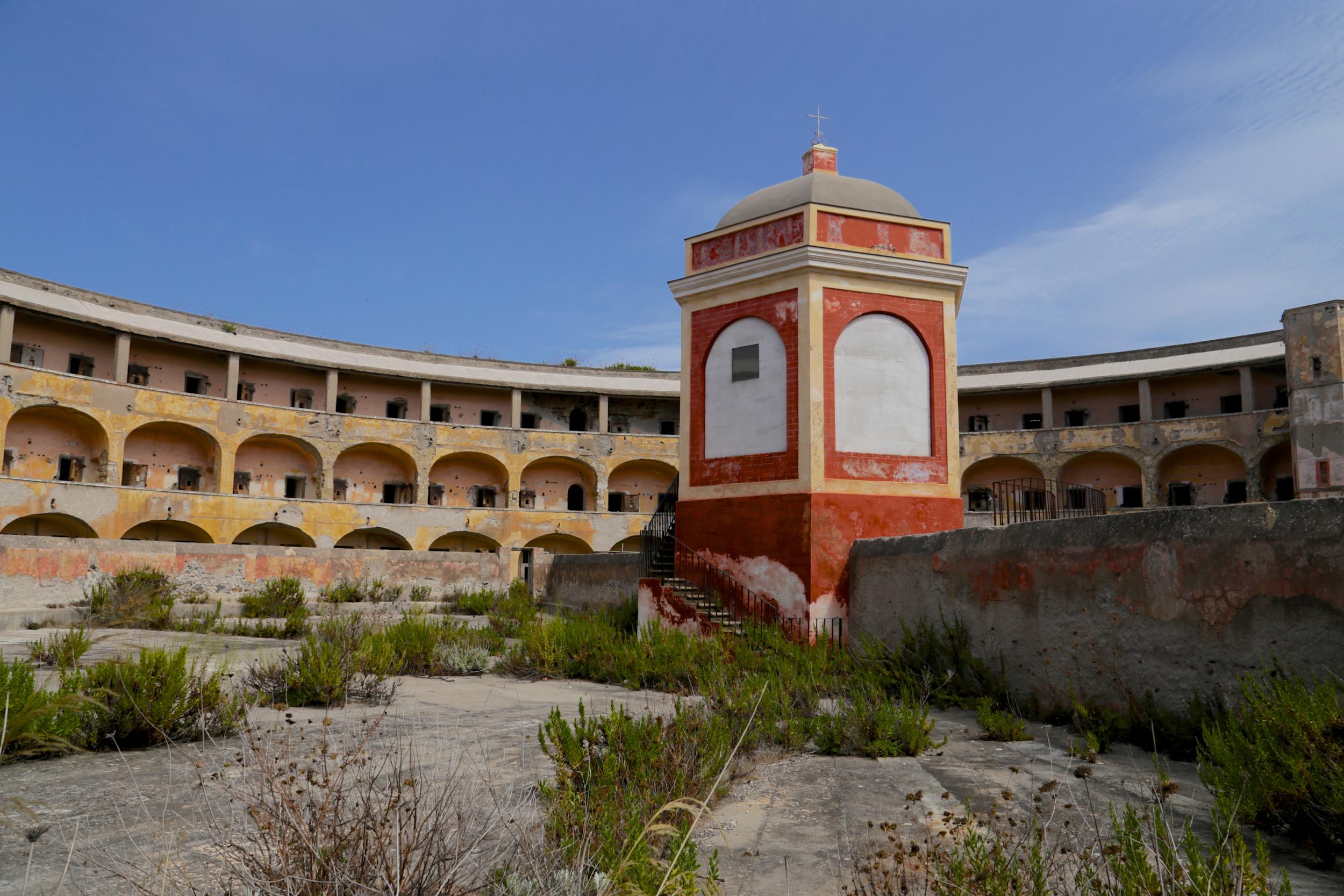 Santo Stefano Island prison