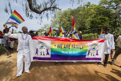Uganda Pride parade