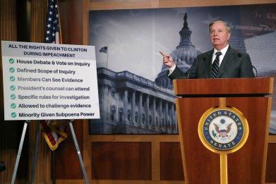 Graham resolution house impeachment inquiry