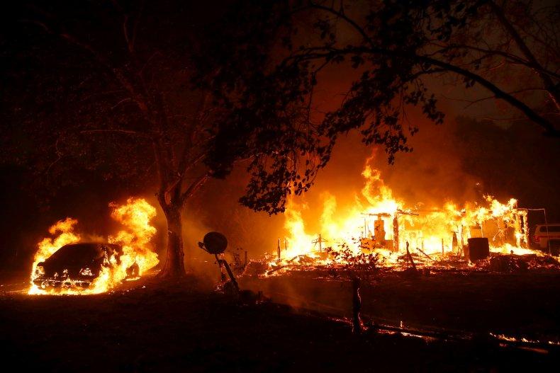 Sonoma County Kincade Fire Oct 2019