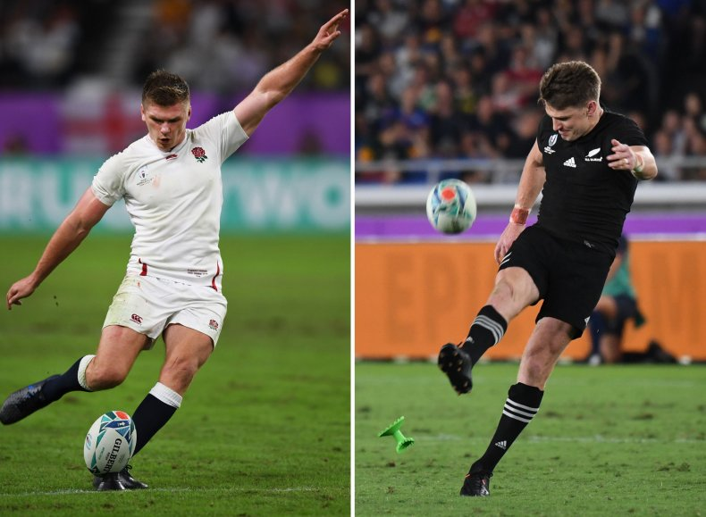 England, New Zealand, Rugby World Cup