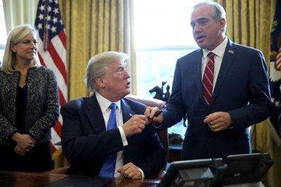 Trump and Shulkin