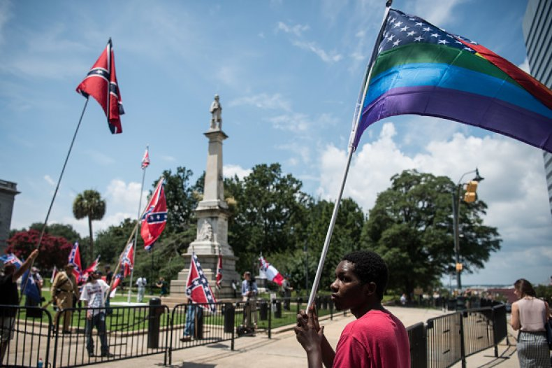 south carolina confederate monument protest