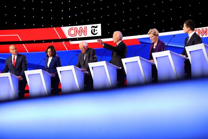 Sixth Democratic debate criteria announced