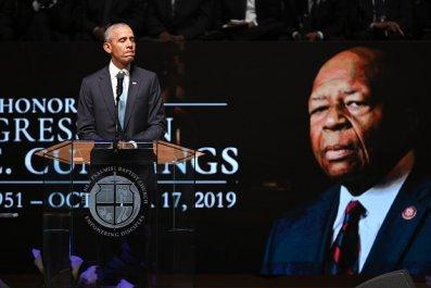 barack obama eulogizes elijah cummings funeral