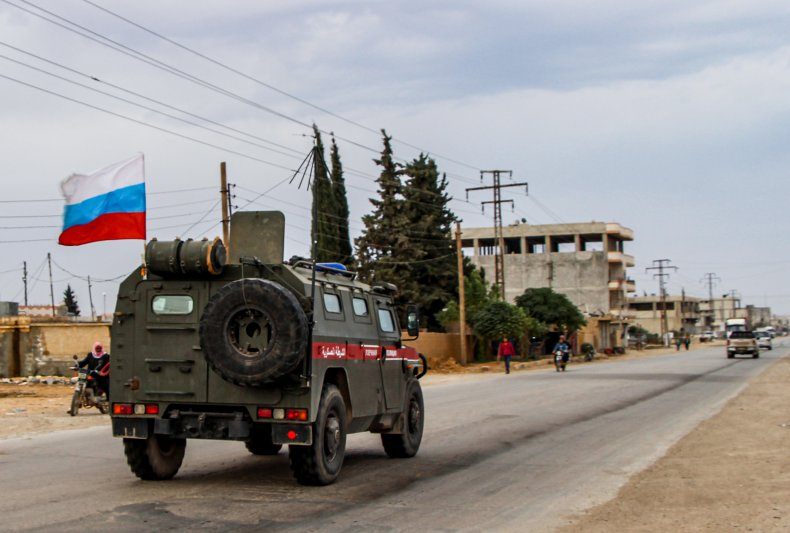 russia military patrol north syria