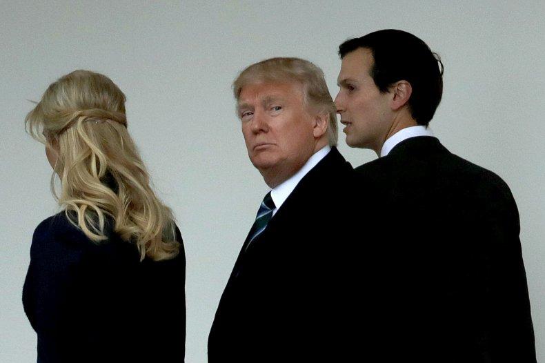 Pres. trump, ivanka and jared