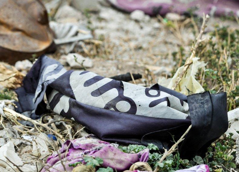syria isis flag kurds war