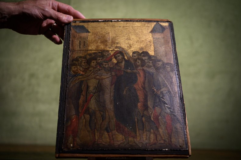Cimabue masterpiece sells for 26 million