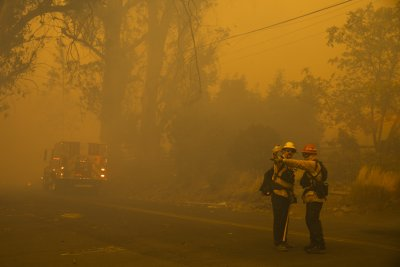 kincade fire photo images wildfire california