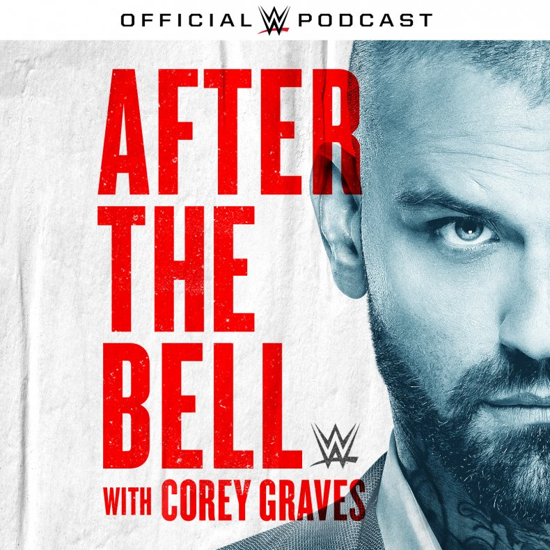 corey graves wwe after the bell art