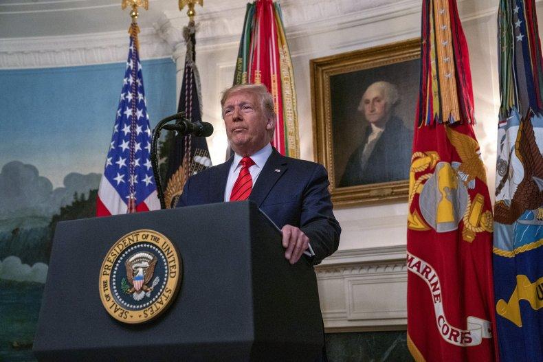 president donald trump, briefing