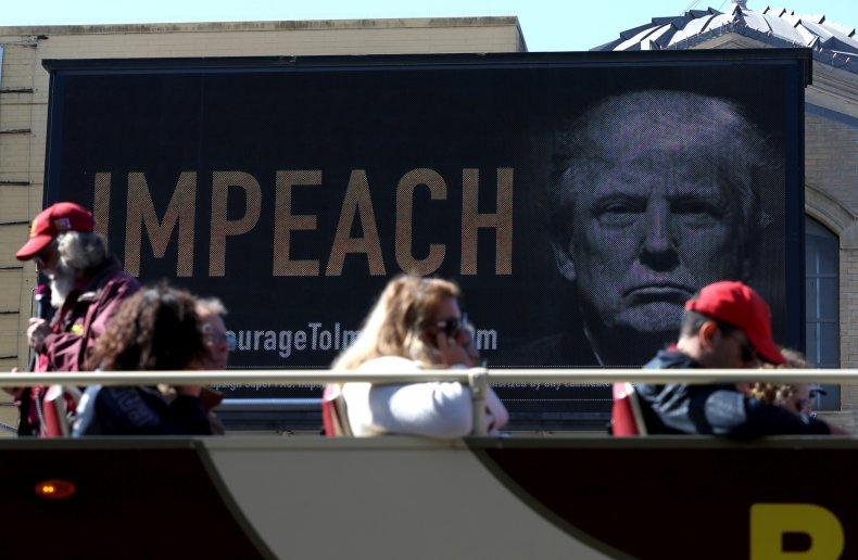 president donald trump, impeachment