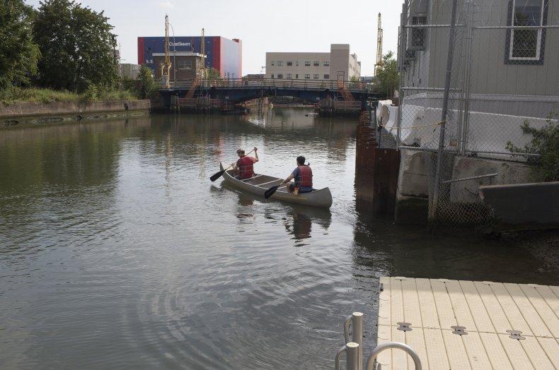Gowanus Canal, Brroklyn, New York