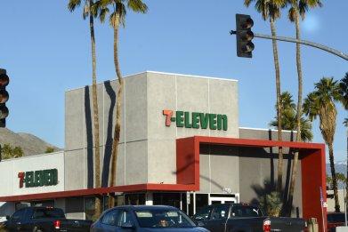 7 eleven store california