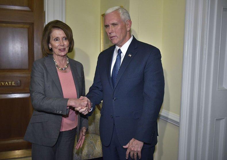 mike pence pelosi democrats abandoned