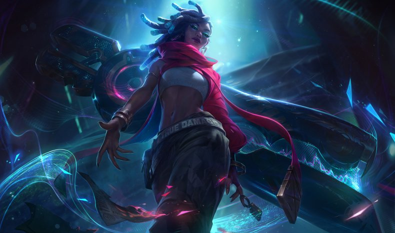 true damage league of legends skins senna