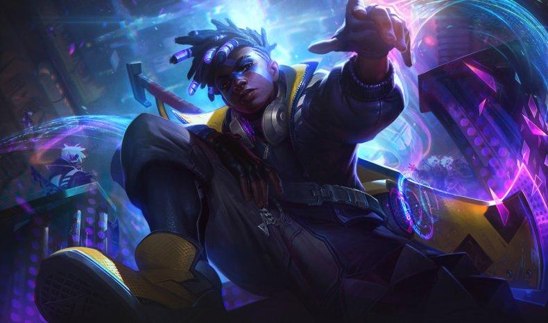 true damage league of legends skins ekko
