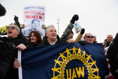 Lordstown, Ohio protest