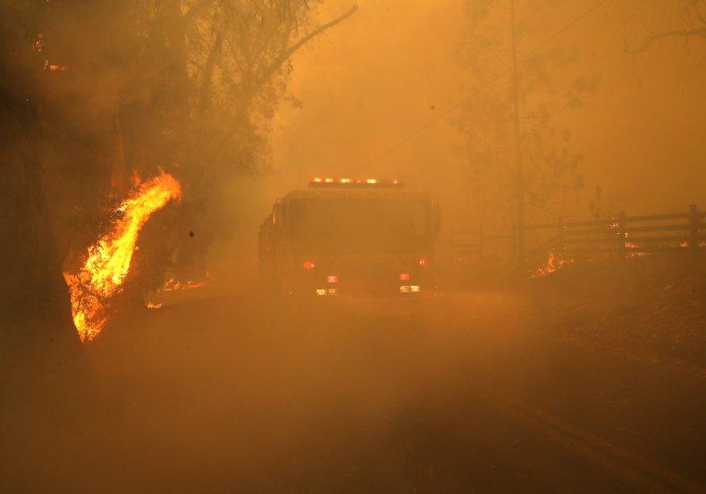 Kincade Fire Windsor California