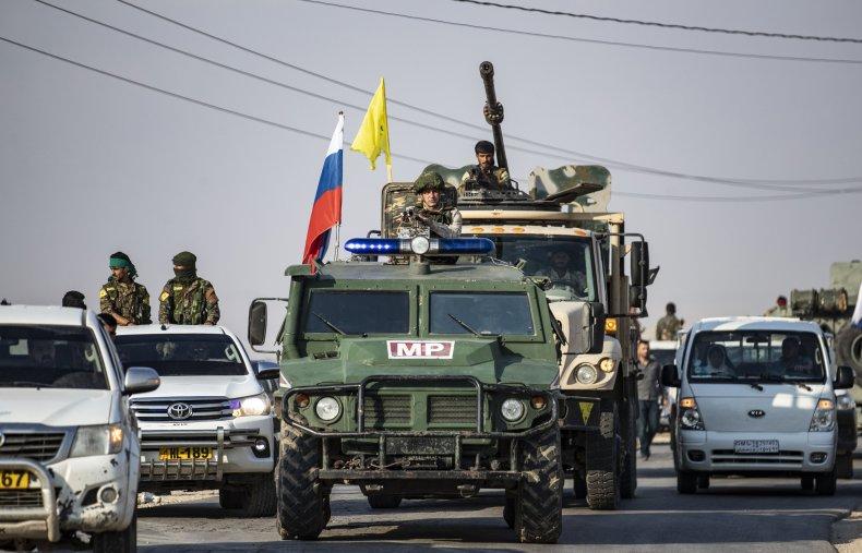 syria kurds ypg russia military border