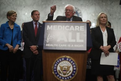 Medicare-for-all and Bernie Sanders