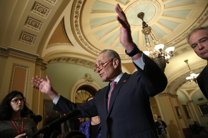 Chuck Schumer Shutdown Impeachment