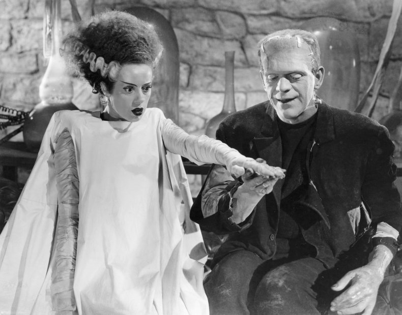 halloween bride of frankenstein