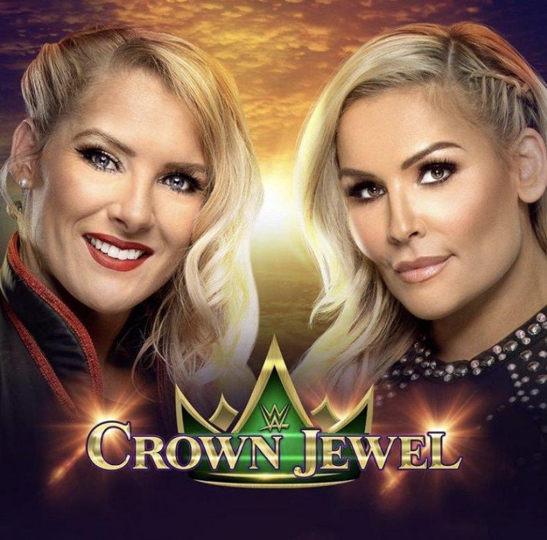 lacey evans vs natalya crown jewel