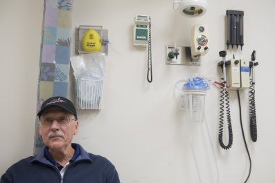 Cancer Patient Awaits Doctor