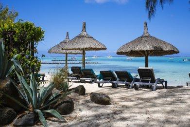 Mauritius Beachcomber Hotel beach