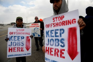 Lordtown, Ohio GM protest
