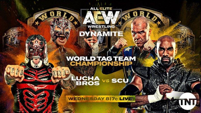 all elite wrestling dynamite tag team championship