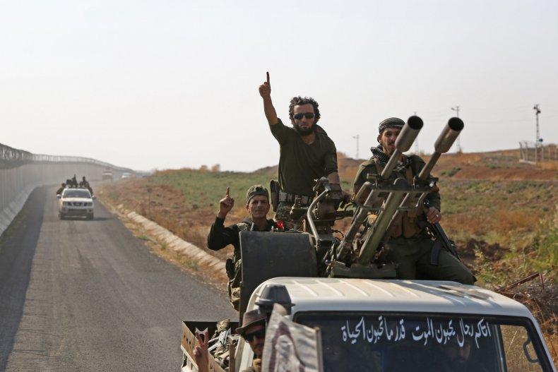 syria rebels turkey invasion kurds