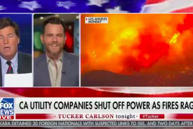 Tucker Carlson Guest California wildfires
