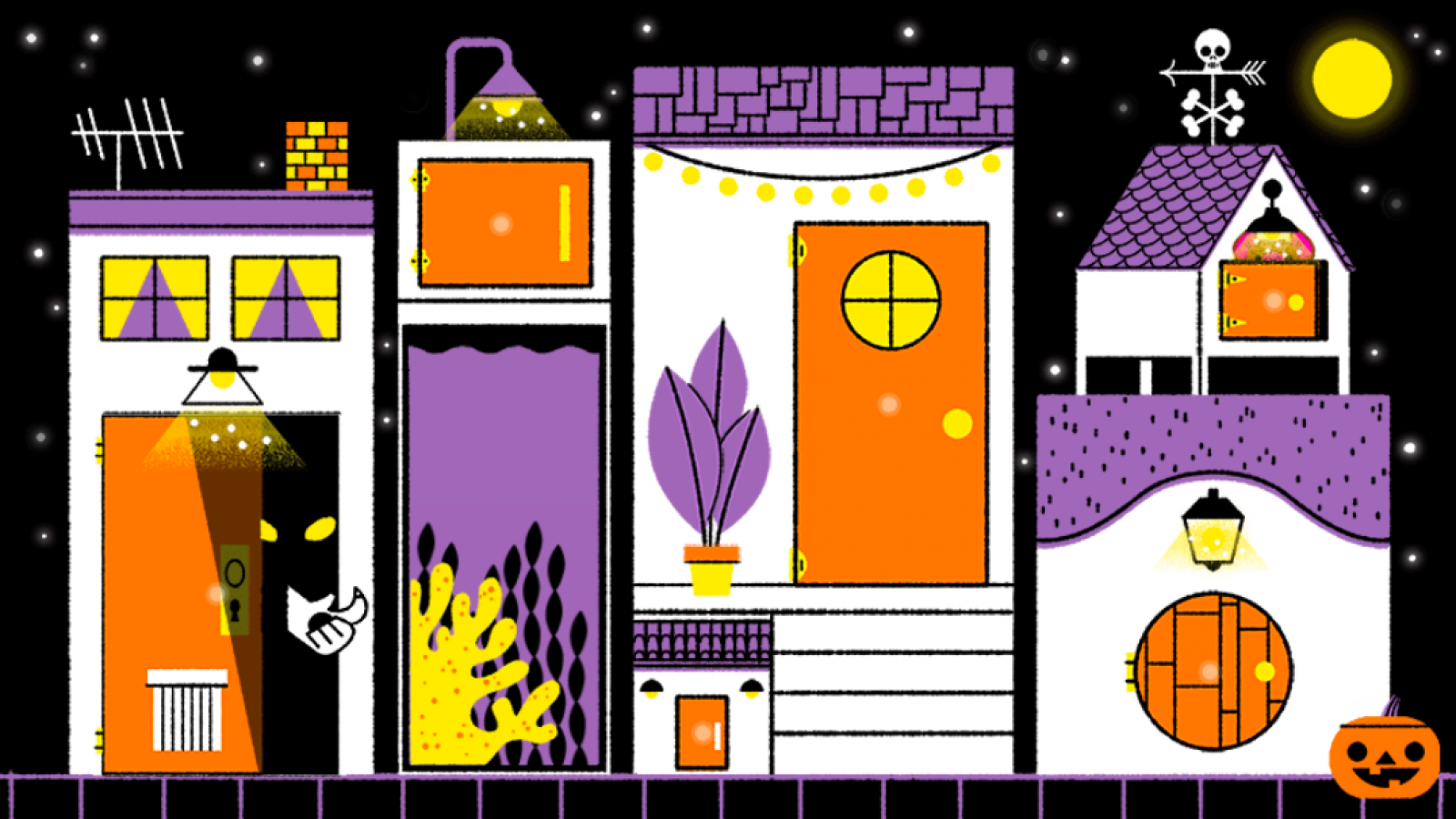 Halloween 2019 Google Doodle Celebrates Spooky Holiday With