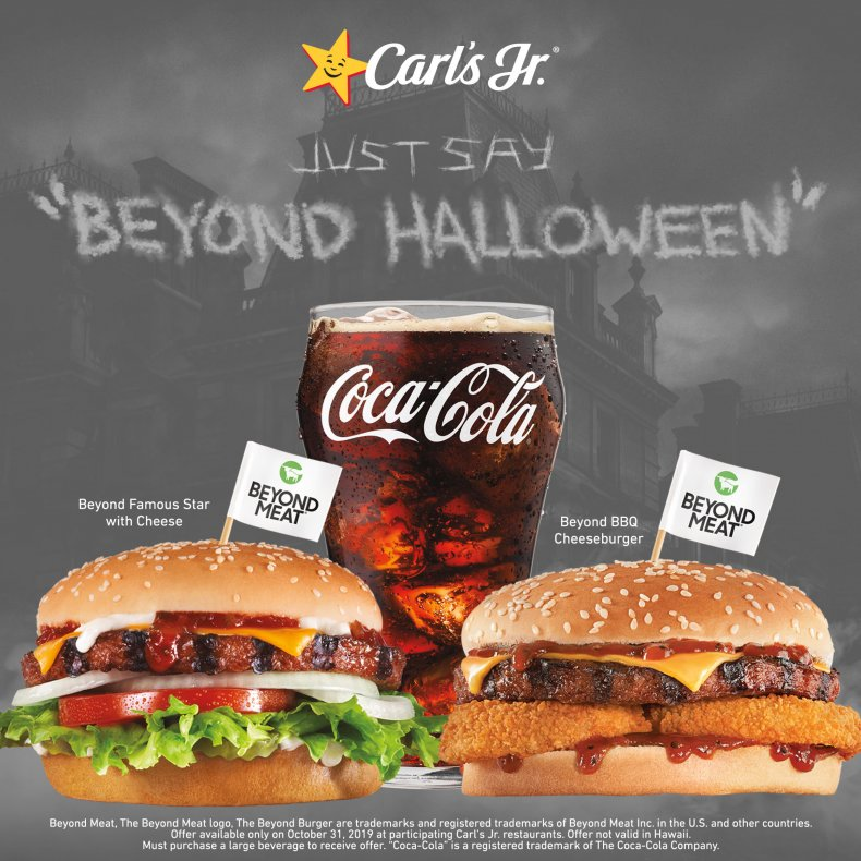 carl's jr halloween beyond burger