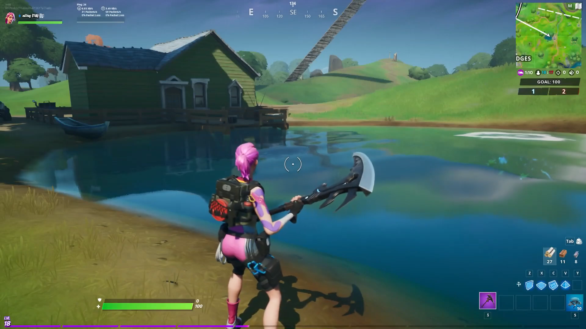 Fortnite Boat Launch Coral Cove Flopper Pond Locations
